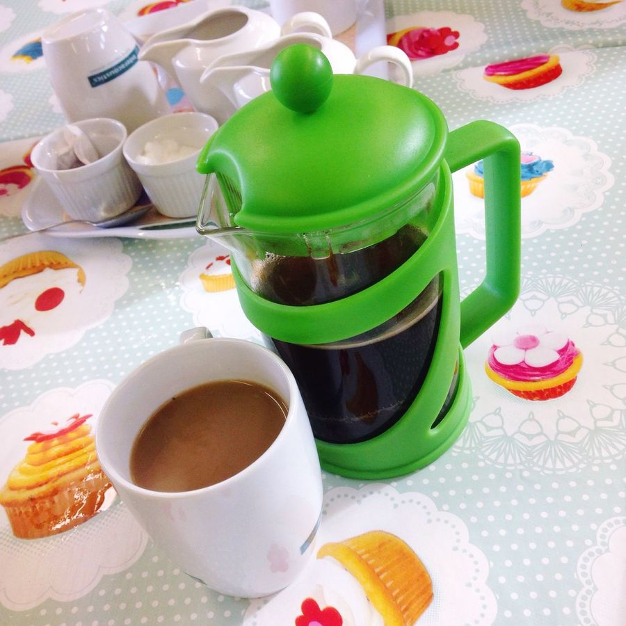 Food And Drink Refreshment Coffee Cup Freshness Drink Close-up Still Life Saucer High Angle View Coffee - Drink Cup Green Color Multi Colored Hot Drink Ready-to-eat Non-alcoholic Beverage Tea Indulgence No People