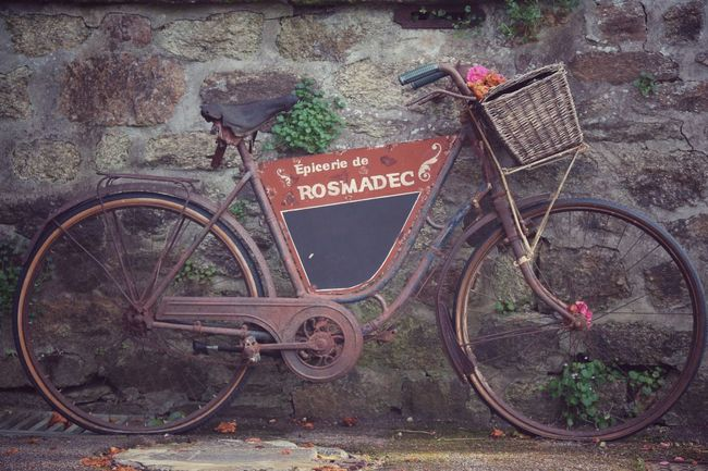 Bicycle French Vintage Old-fashioned