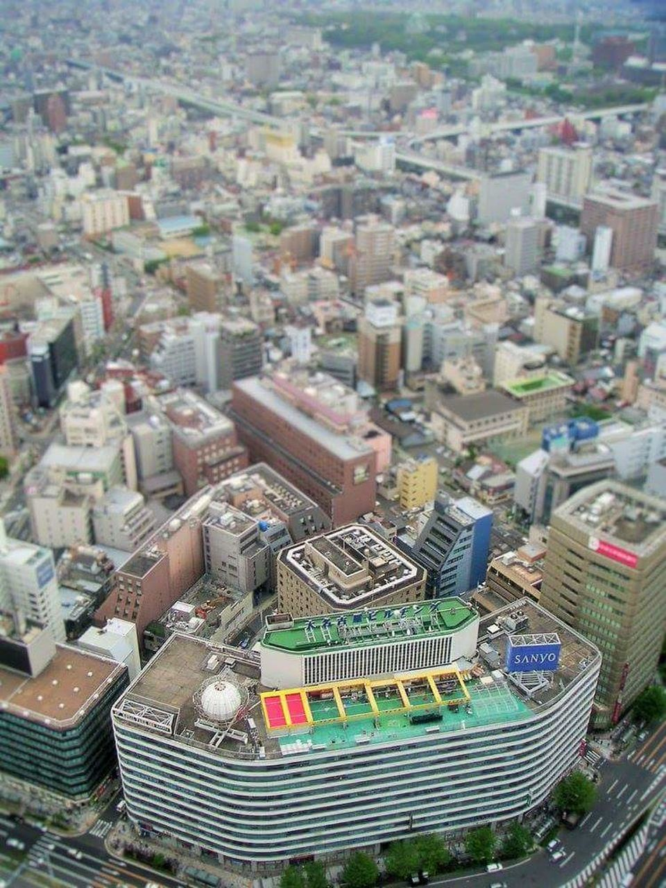 cityscape, high angle view, city, architecture, building exterior, skyscraper, no people, aerial view, day, outdoors, travel destinations, tilt-shift, modern, urban skyline