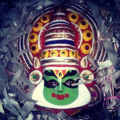 Kathakali mask unpacking ^_^