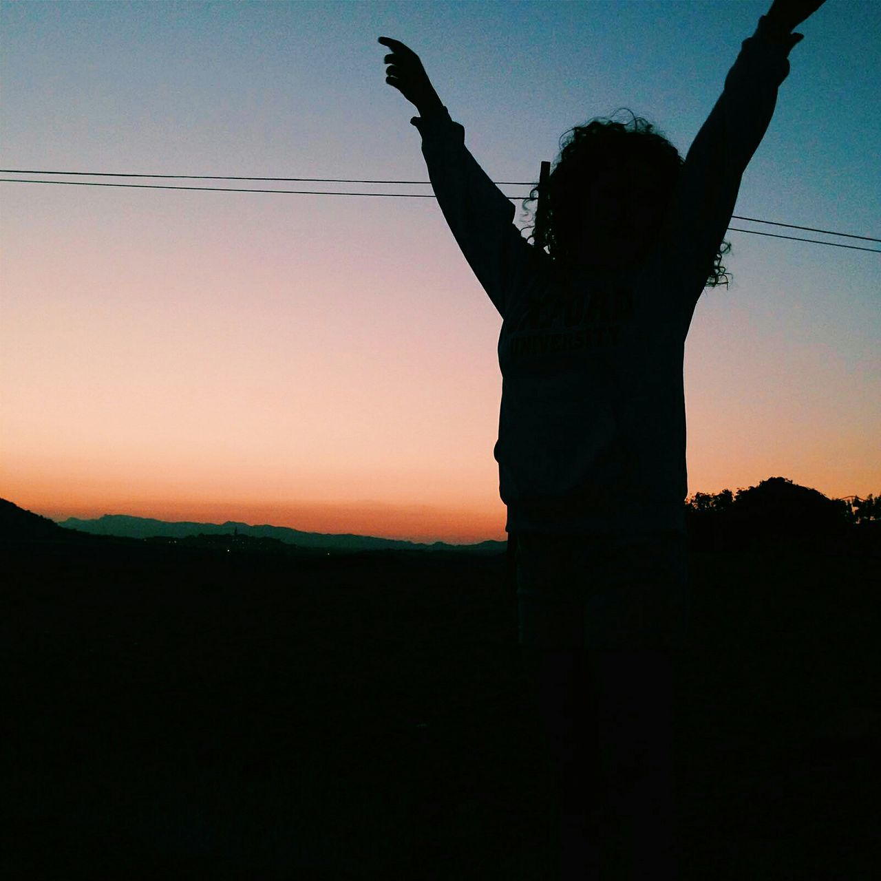 Indie Enjoying Life Sunset Silhouettes Exploring Contrast Dancing Grunge Freshness