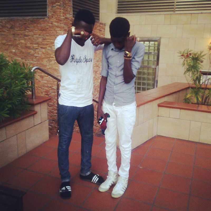 Me & ma Day1nigga @kizzysix ?????☝✌✌✌✌✌✌old tho,