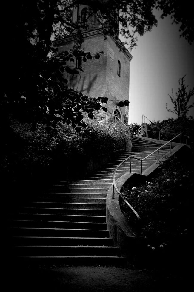 Wasserturm Light And Shadow Old Buildings Monochrome Berliner Ansichten Darkness And Light Eye4black&white  Untold Stories Blackandwhite Bw_collection