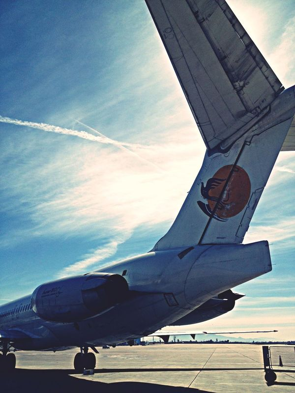Lovely weather with Md82