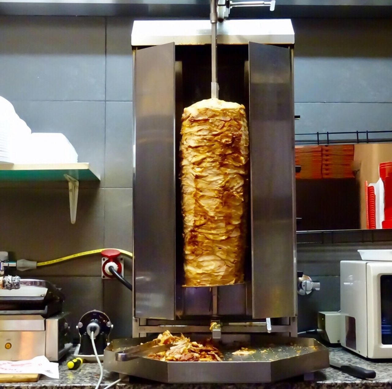Food Food And Drink Freshness Indoors  No People Ready-to-eat Day Mannheim Sleeplessnights  Turkishfood Burger Döner 🥙 Mannheim Neckarstadt Mittelstr Immigrants Street Who We Are