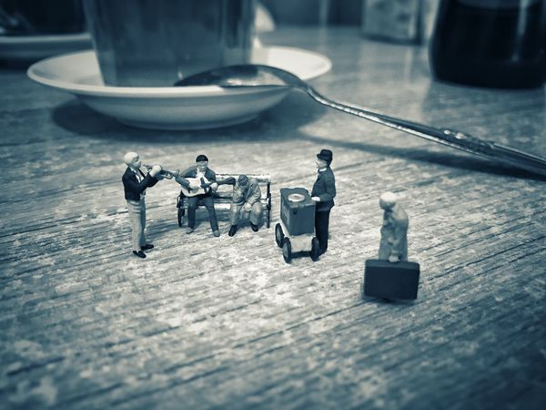Table Still Life Selective Focus Toy No People Indoors  Figurine  Close-up Weapon Day