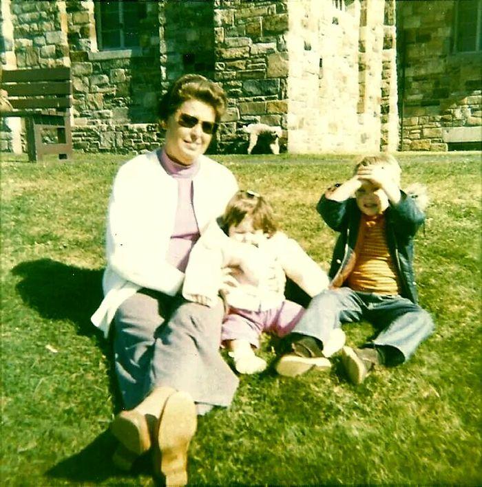 So Long Ago Missyou♡ Grandma Quabbin 1973 Me And My Brother  Family ♥ Family❤
