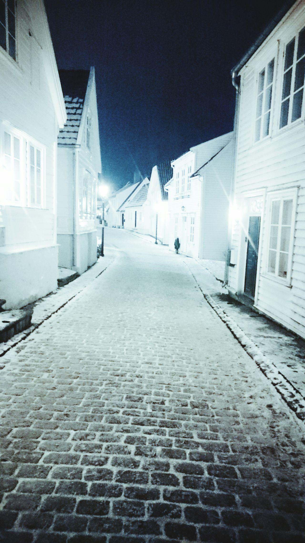 Gamle Stavanger Winterevening