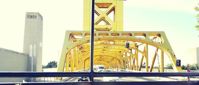 Old Sacramento First Eyeem Photo Old Yellow Oldsacramento Bridge My Best Photo 2015