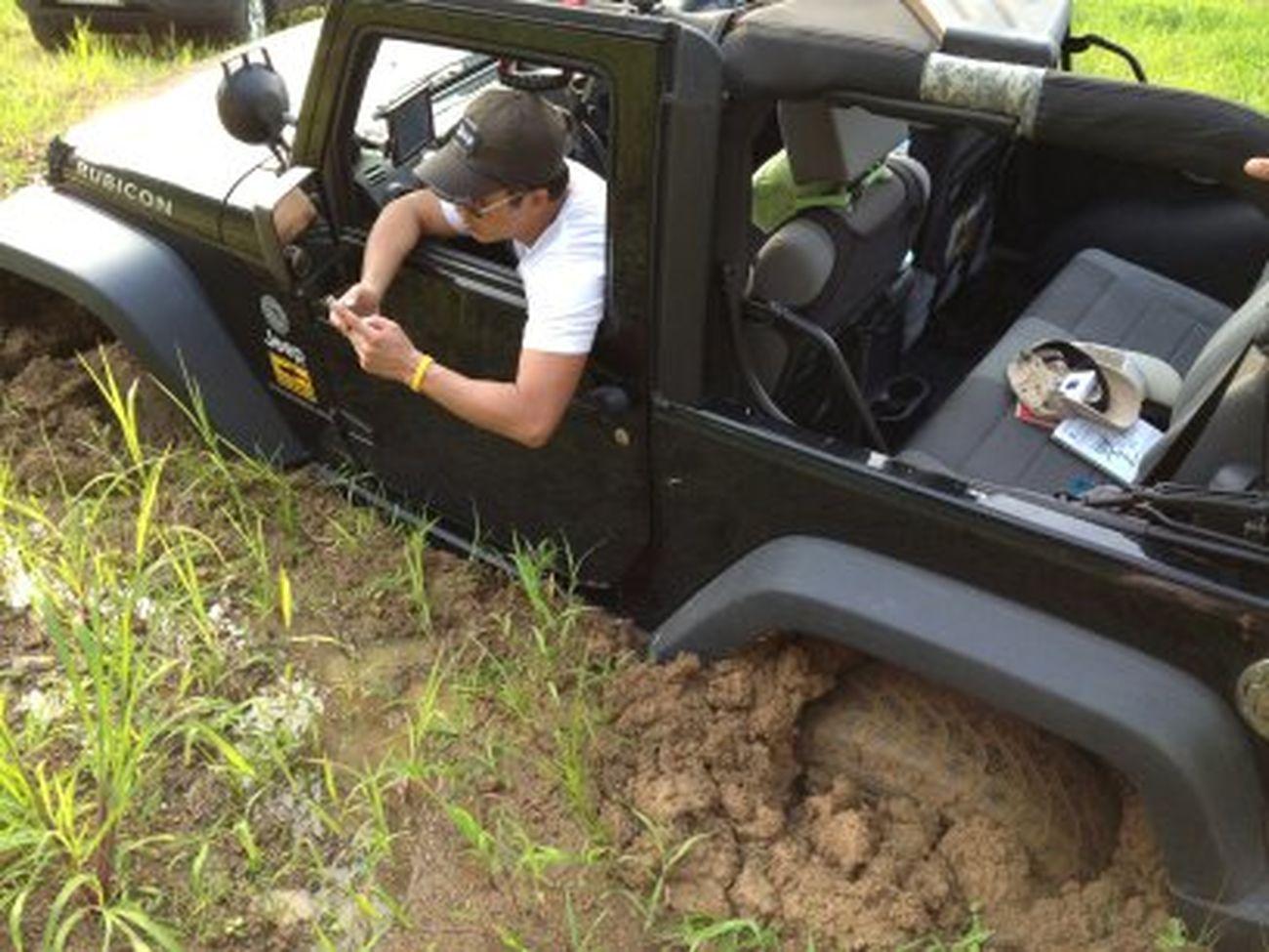 Stuck!!!! 4x4ing