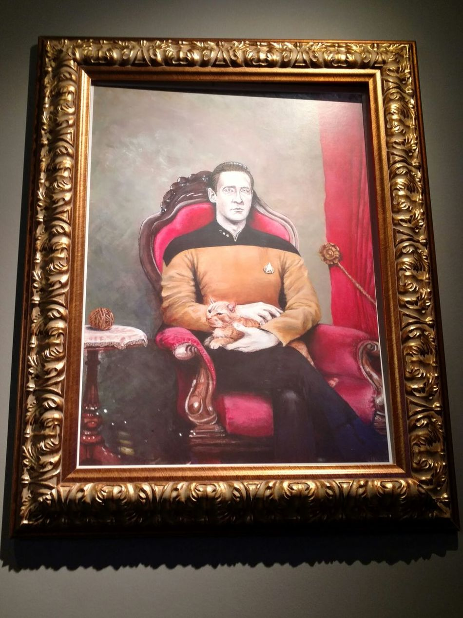 Picture Frame Indoors  Adult Representing Taking Photos Picture ArtWork Startreck