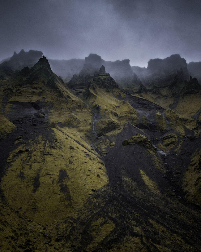 Perspectives On Nature Outdoors Mountain Landscape Nature No People Beauty In Nature Scenics Day Sky Iceland