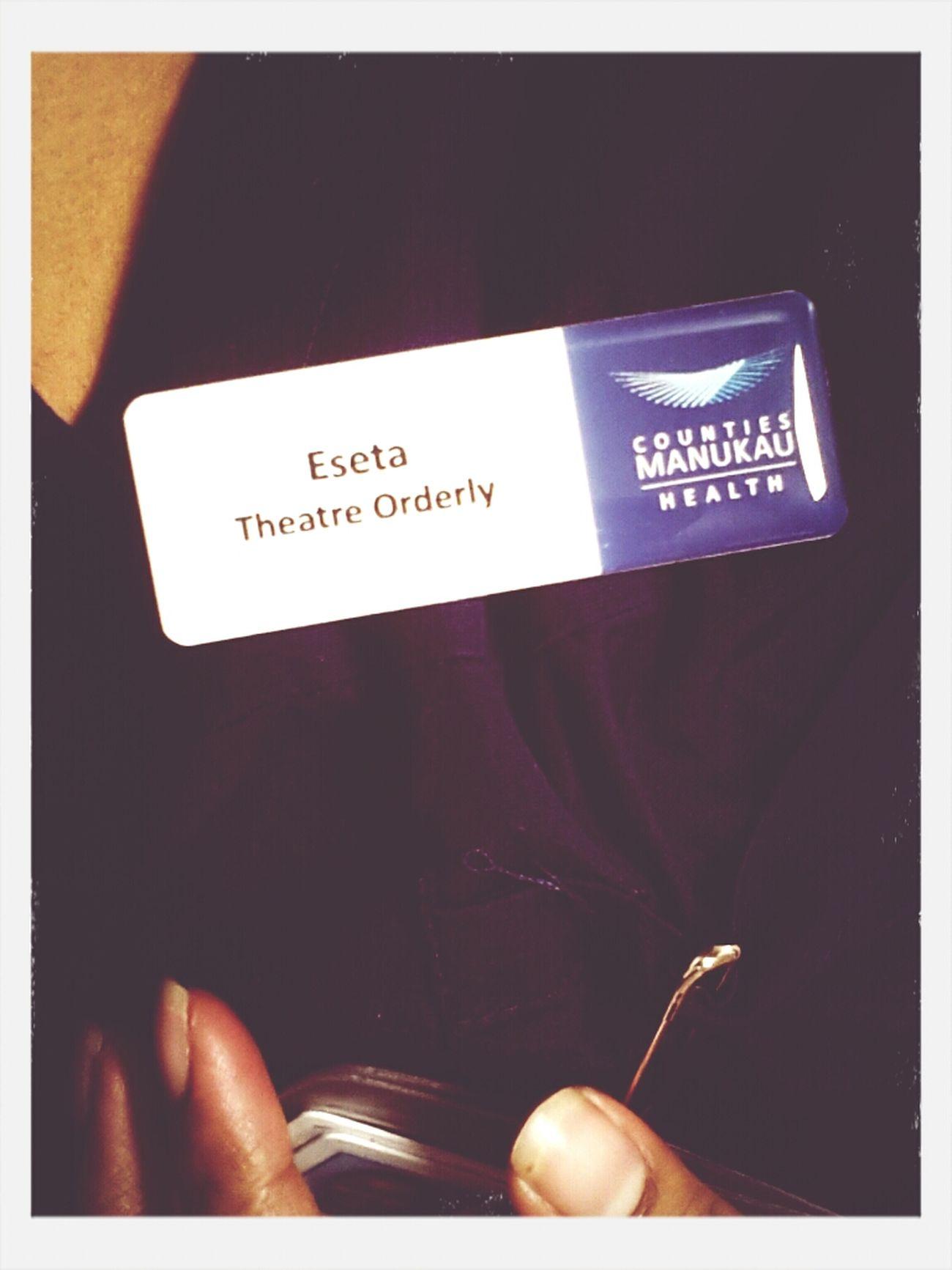 Finally got my self a name badge I feel LEGITASFUCK now