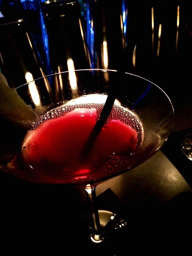 Cocktail Cosmopolitan Food And Drink Drink Still Life Refreshment Close-up Freshness Indoors  Barscene Red Illuminated Focus On Foreground Nightclub Restaurant Nightlife Indulgence Multi Colored Lit Serving Size No People Vibrant Color Nightlife Urban Lifestyle