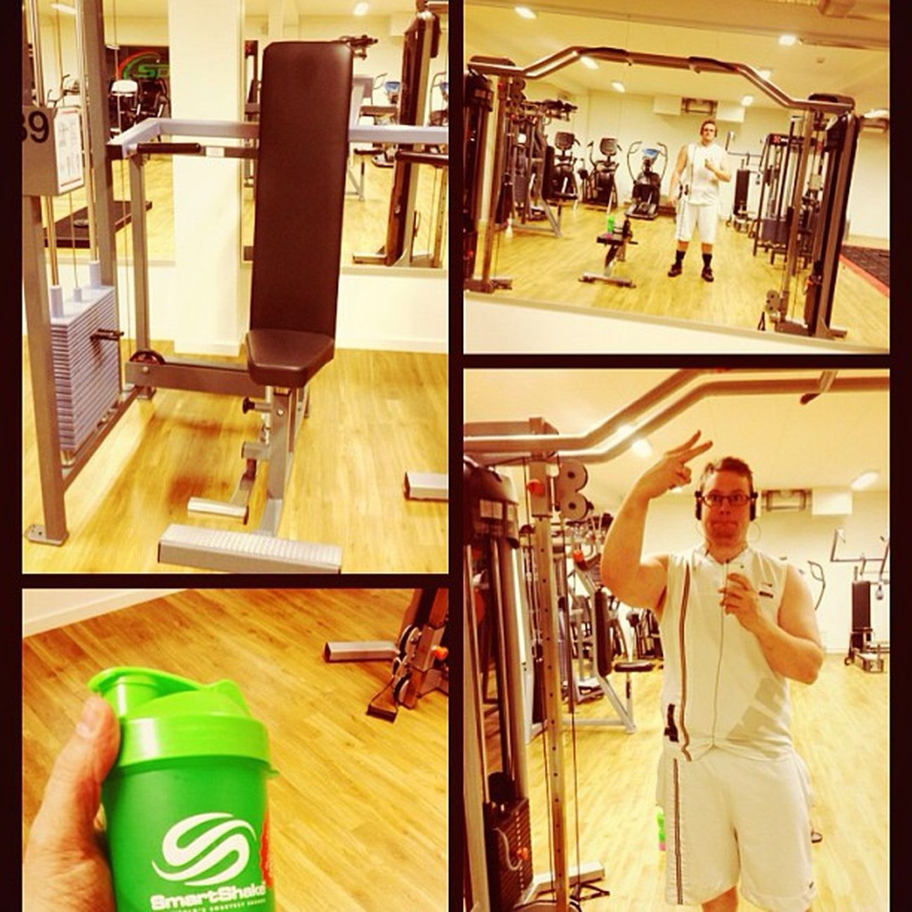 Late night session. Sportlife Shoulders Bmr Aldrigvila smartshake icaniwill stenungsund