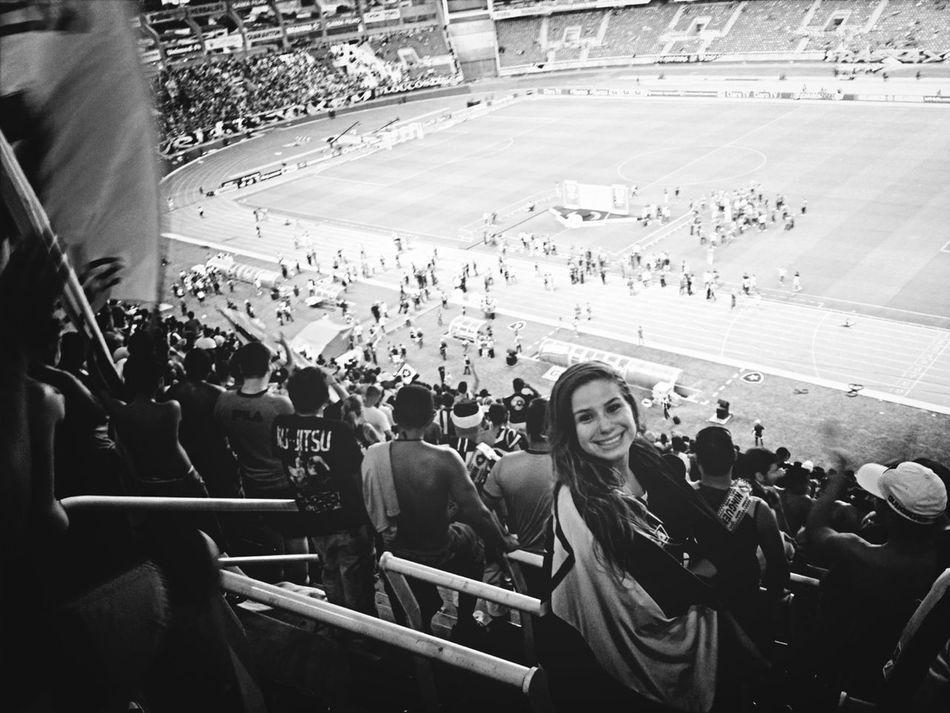 Watching The Game Soccer Stadium