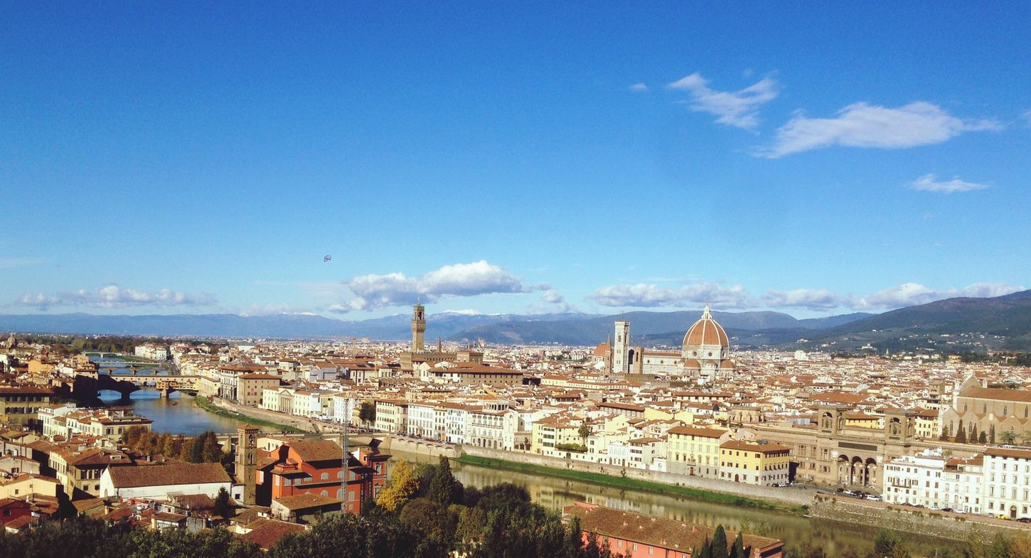Firenze Italy Piazzale Michelangelo Beautifull Wiev Iphone6s IPhoneography Iphoneonly