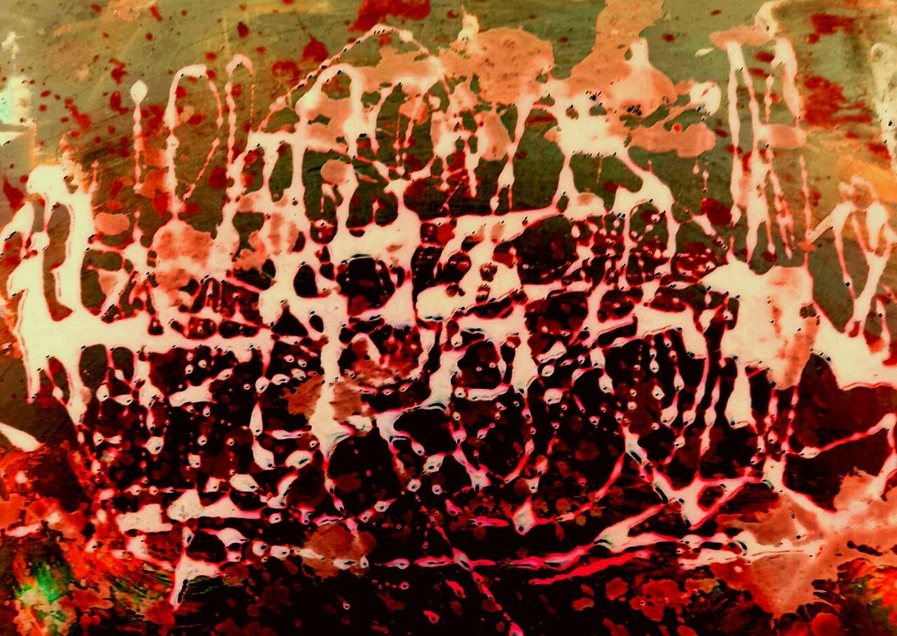Red Backgrounds Full Frame No People Close-up Textured  Indoors  Day Architecture Industrial Art Decay Abstract Expressionism Abstract Photography Mexican Representing Freshness Red Apache Spainish Abstract Splattered Ancient Muddy Waters