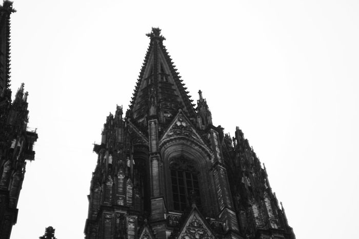 Kölner Dom Religion Spirituality Architecture Place Of Worship Building Exterior No People Outdoors Clear Sky Day Architecture Cologne Kölner Dom