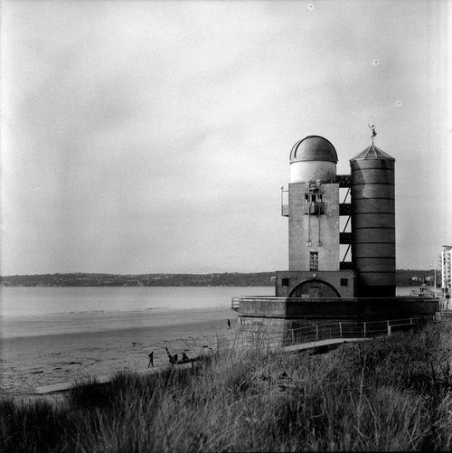 The Observatory, Swansea. Mamiya C220. Ilford FP4+ 125 ISO. Mamiyac220 Medium Format Monochrome Ilfordfp4
