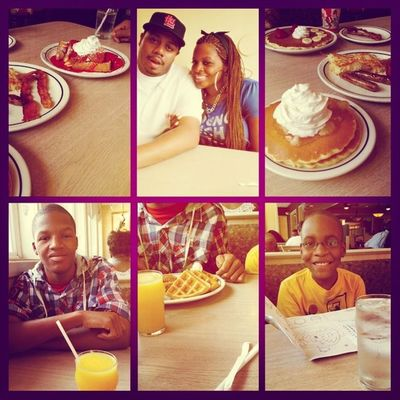 Brunch with the fam. ???