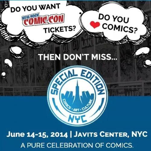 I'm Getting Ready..... SENYC14 Marvel NewComics Dcuniverse
