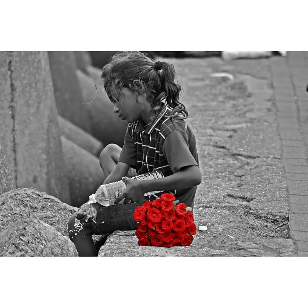 """Every rose has its own story"" literally the picture speaks all"" Some people don't get what we have and some people just wants to get rid off of what we want! This is life..... #Pain BeTHANKFUL Cry Emotions Helplessness Karma Nolaughter Painfulmemories RespectYourself Roses Uniqueness Adapted To The City"