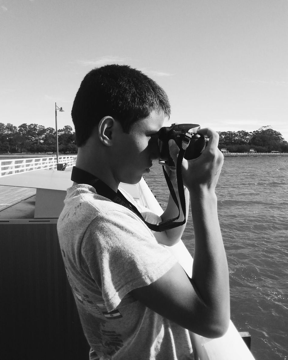 My son turned 14 yesterday...where has the time gone? Hope you're all well EyeEm friends! Standing Clear Sky Sunlight Young Adult Outdoors Vscocam VSCO Blessed  Black And White Sharemylife