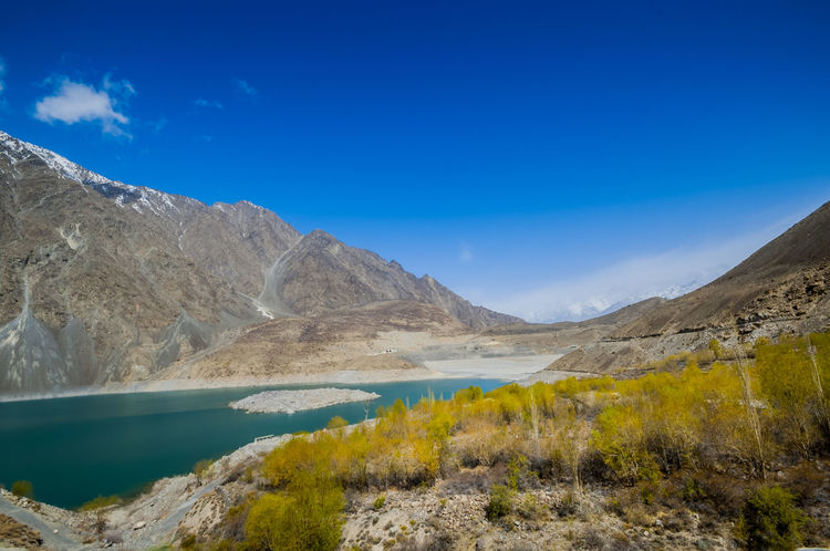 Satpara Lake,Skardu ,Gilgit and Baltistan, Pakistan Satpara Lake Skardu Pakistan Beauty In Nature Blue Day Lake Landscape Mountain Mountain Range Nature No People Non-urban Scene Outdoors Physical Geography Scenics Sky Tranquil Scene Tranquility Water