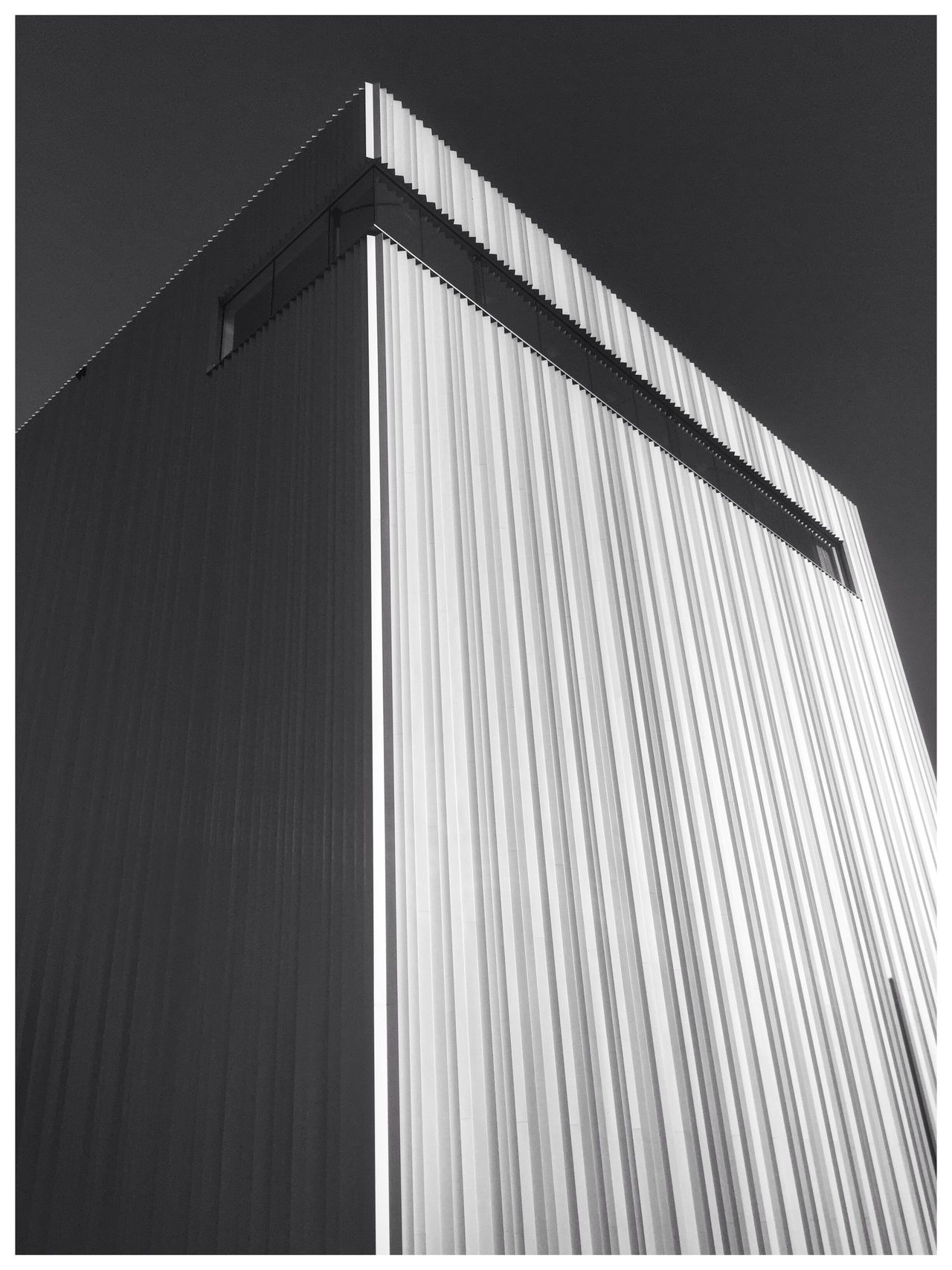 EyeEm Selects Architecture Built Structure Low Angle View Building Exterior No People Outdoors Day Clear Sky Corrugated Iron Sky