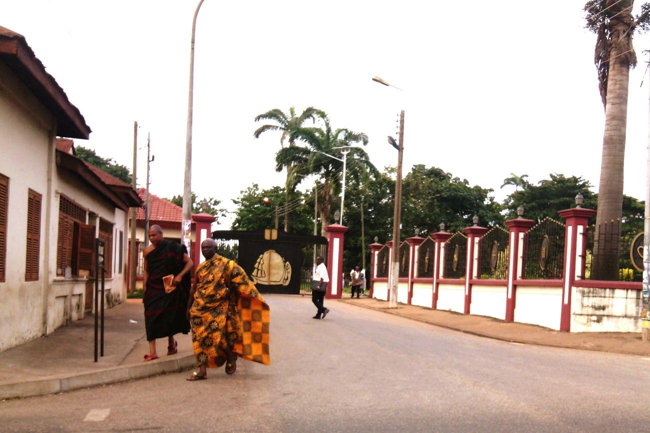 Striking Fashion Hello World Colorful Ghana Kumasi Urban Colors Fabric
