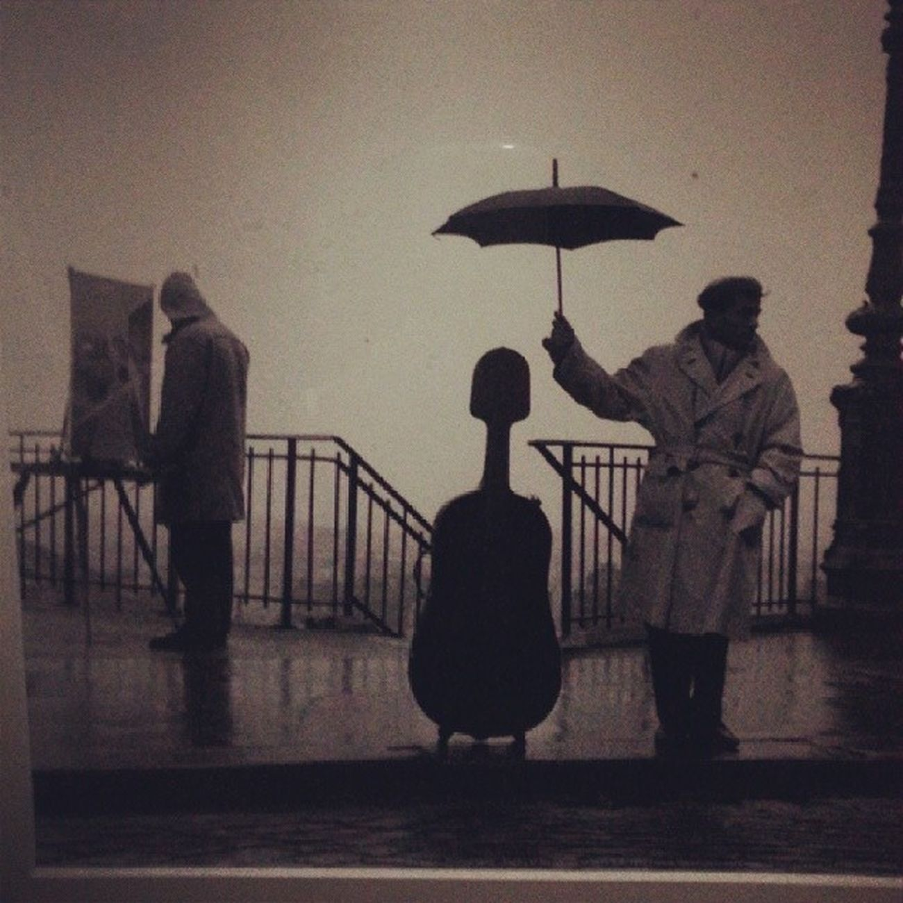 Artist Musicien Rain Umbrella bestfriends epic magnifique