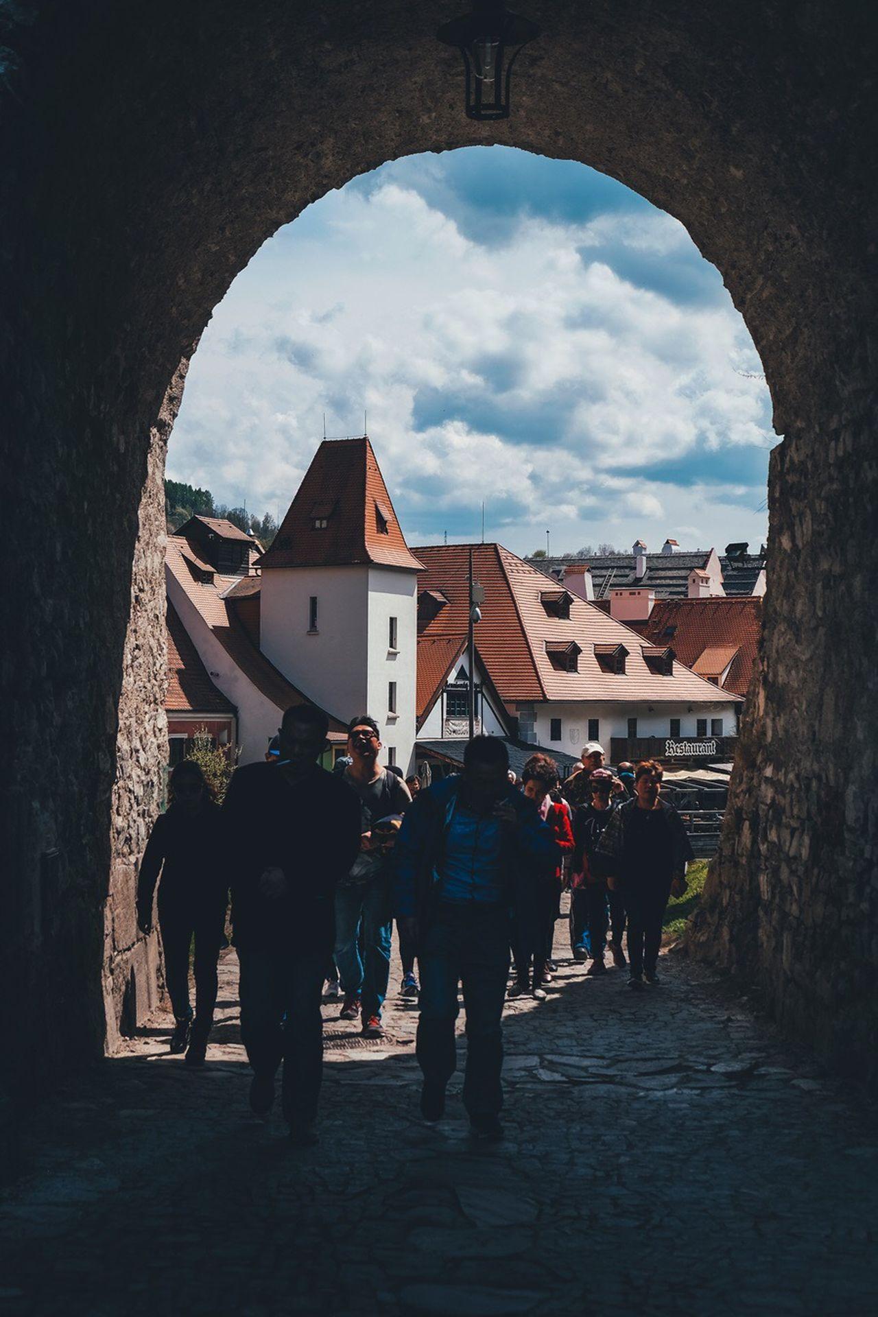 The Street Photographer - 2017 EyeEm Awards Streetphotography Travel Destinations Travel Photography Cesky Czech Republic Český Krumlov