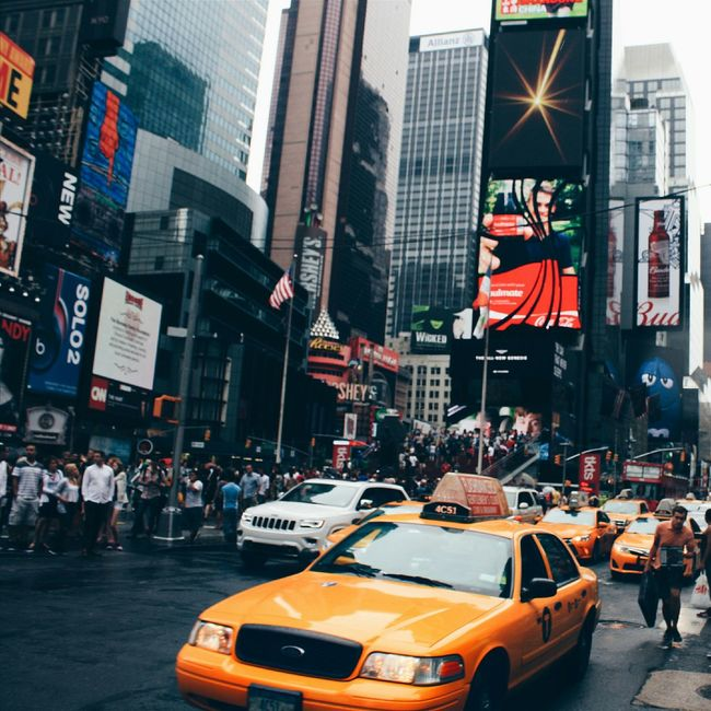 New York Manhattan Taxi Newyorkcity New York Timesquare Timesquarenyc Street Photography IHeartNewYork