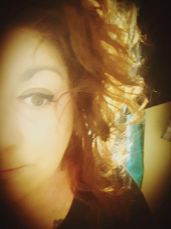 Bed Head Curly Hair Messy Hair