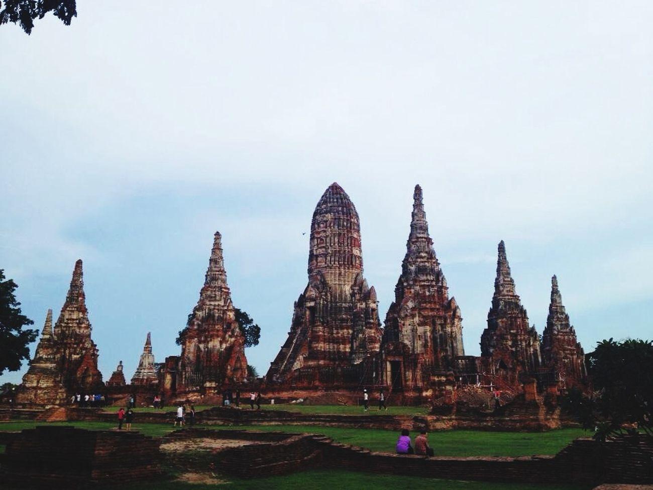 Wat Chaiwatthanaram Archeology Trip 2013 Temple