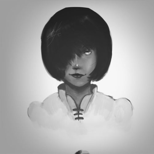 """""""Portrait painting"""""""