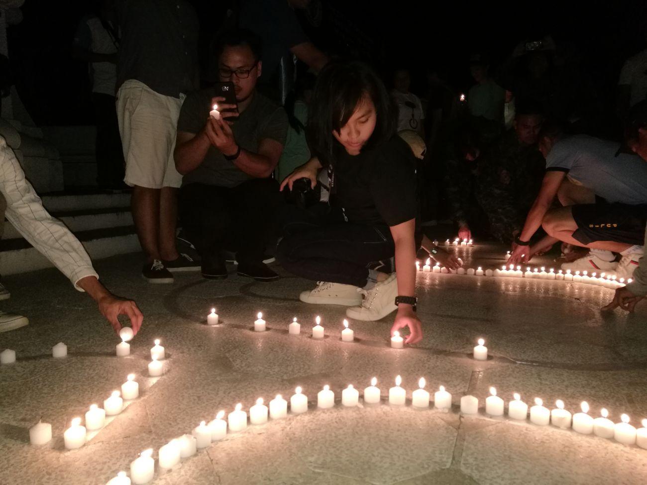 Changeclimatechange Candle Light Earthhourph2017 Earthhour2017 Night Candle 60+ EyeEm EyeEmNewHere