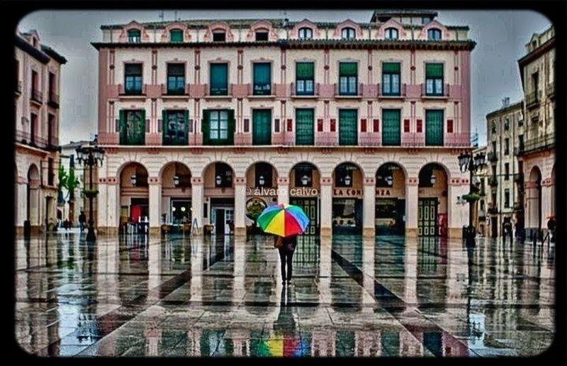 Rain Colours Urban Reflections