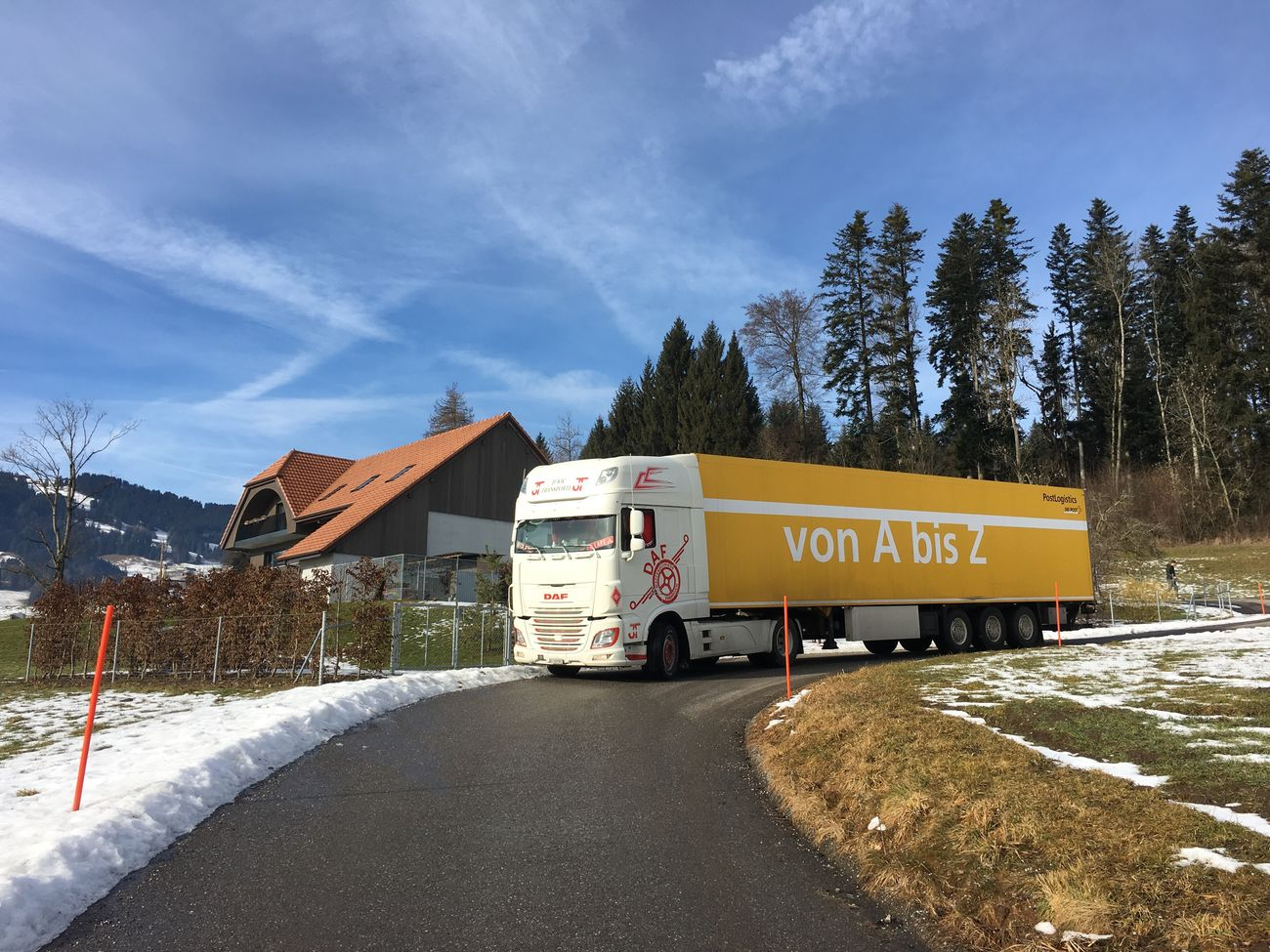 Transportation Outdoors Snow Day Trucks Swiss My Truck My Life Truckerslife Truckdriver Check This Out Hallo World Truck