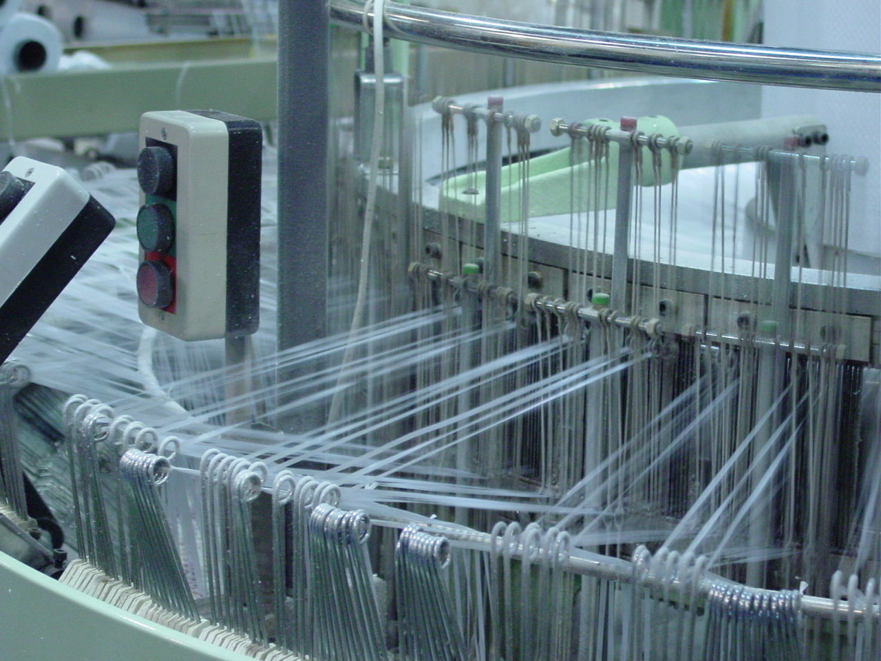 Close-up Day Factory Indoors  LatinAmerica Manufacturing Equipment No People Technology Textile