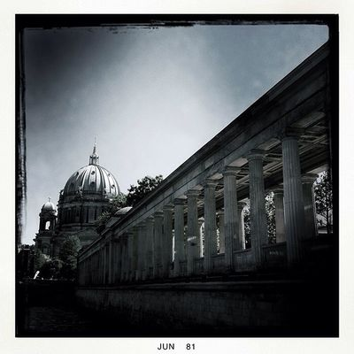 blackandwhite at Alte Nationalgalerie by ellele