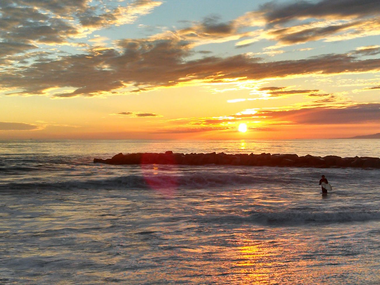 Newport Beach So Cal Summer Sunset Surfing Ocean Stunning_shots Taking Photos Travel Picture