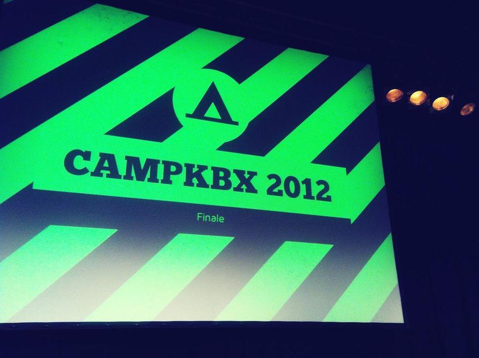 Ist Denn Schon #campkbx Finale?