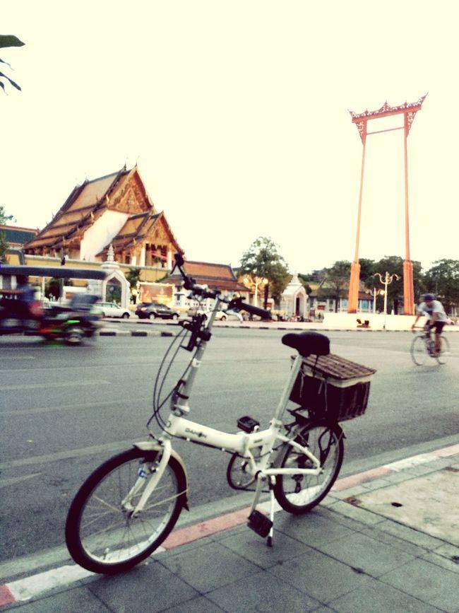 Enjoying Life Bicycling Check This Out Bike Ride Dahon BKK Traveling Bkk Thailand Ride A Bike