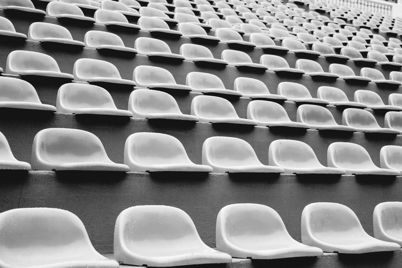 Full Frame Shot Of Seats
