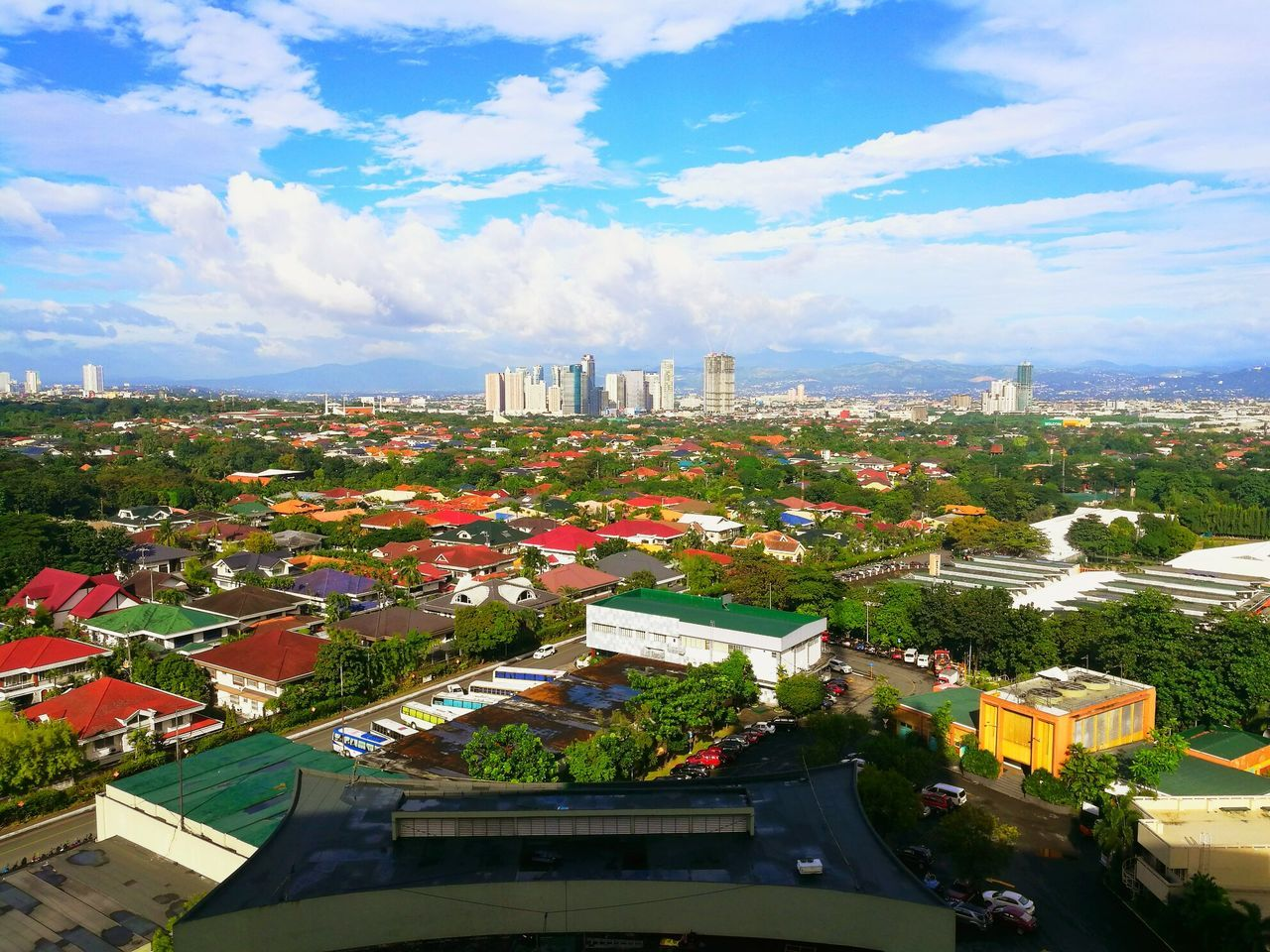 The Pasig City skyline 😃 Cityscape City High Angle View Travel Destinations Architecture Aerial View Urban Skyline Travel Tourism Sky Arrival Outdoors Business Finance And Industry Building Exterior Illuminated Cloud - Sky Skyscraper Tree No People Night First Eyeem Photo