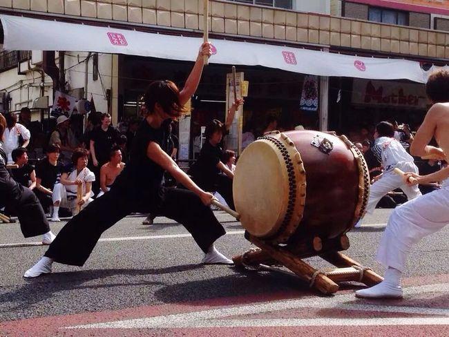 祭りでどどんこ(=゚ω゚)ノ 太鼓 Japan 趣味 祭り