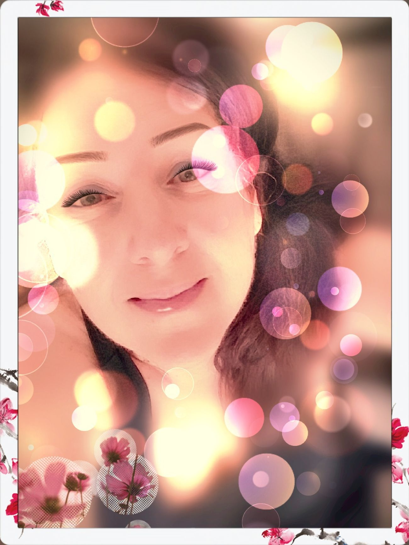 Beautiful Woman Portrait Digital Composite Human Face Close-up Artistic Photo Art, Drawing, Creativity Portrait Of A Woman Thats Me  Model Photography Portrait Photography Dark Hair Long Hair Flowers Model Green Eyes Shadows & Lights