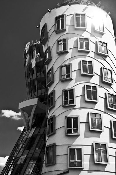 Ginger & Fred Bnw_friday_eyeemchallenge Architecture Bw_collection Black And White Fortheloveofblackandwhite Monochrome Blackandwhite Architecture_bw Architecture_collection